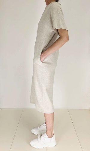 Humanoid Sweaterkleid Halsey ivory | Calamita Onlineshop