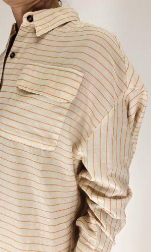 Humanoid Long Shirt Mary ivory   Calamita Onlineshop