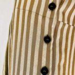 Pomandère gestreiftes Empire-Kleid | Calamita Onlineshop
