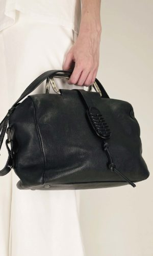 Rehard Tasche mit Metallgriff Size Small | Calamita Onlineshop
