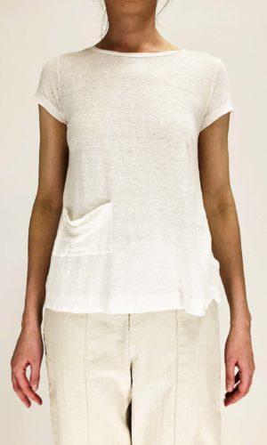 Transit T-Shirt Roundneck chalk | Calamita Onlineshop