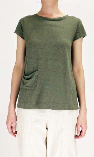 Transit T-Shirt Roundneck green | Calamita Onlineshop
