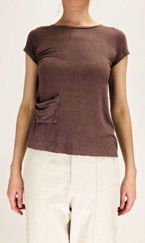Transit T-Shirt Roundneck old rosé | Calamita Onlineshop