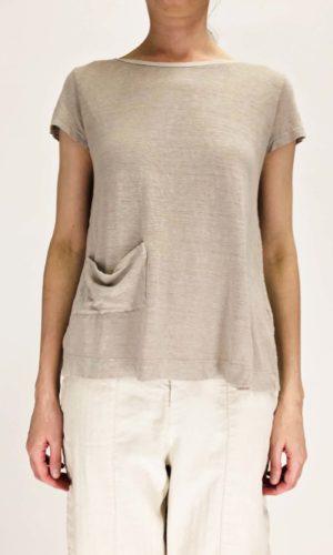 Transit T-Shirt Roundneck stone | Calamita Onlineshop