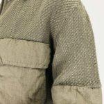 Transit Bouclè-Jäckchen khaki | Calamita Onlineshop